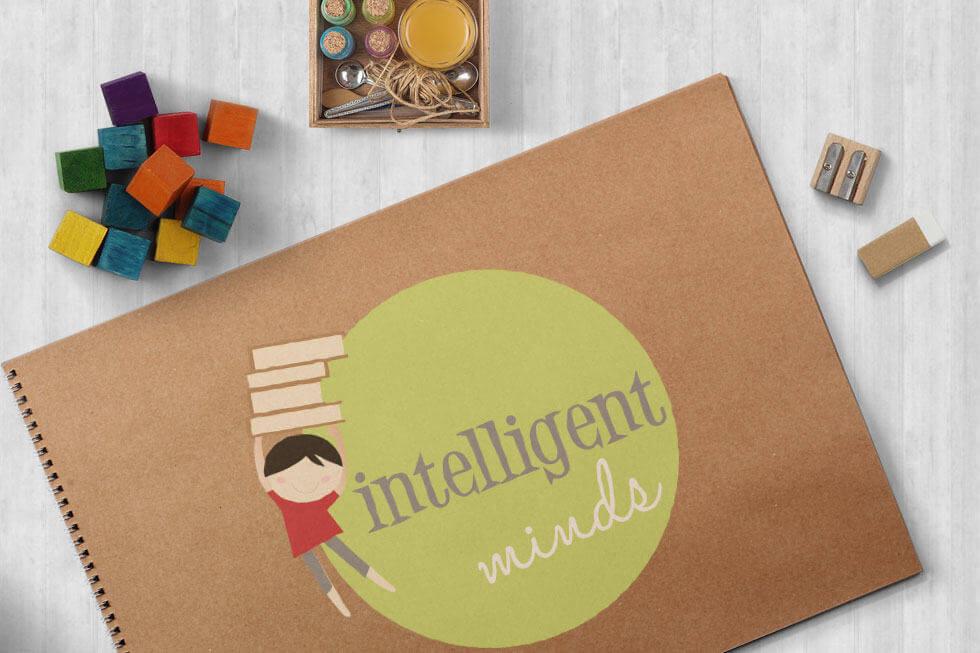 Intelligent Minds - Children's Brand Graphic & Web Design.