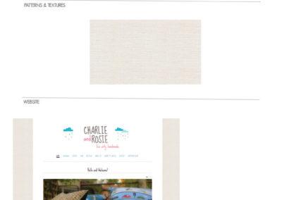 Charlie&Rosie Handmade Brand Board