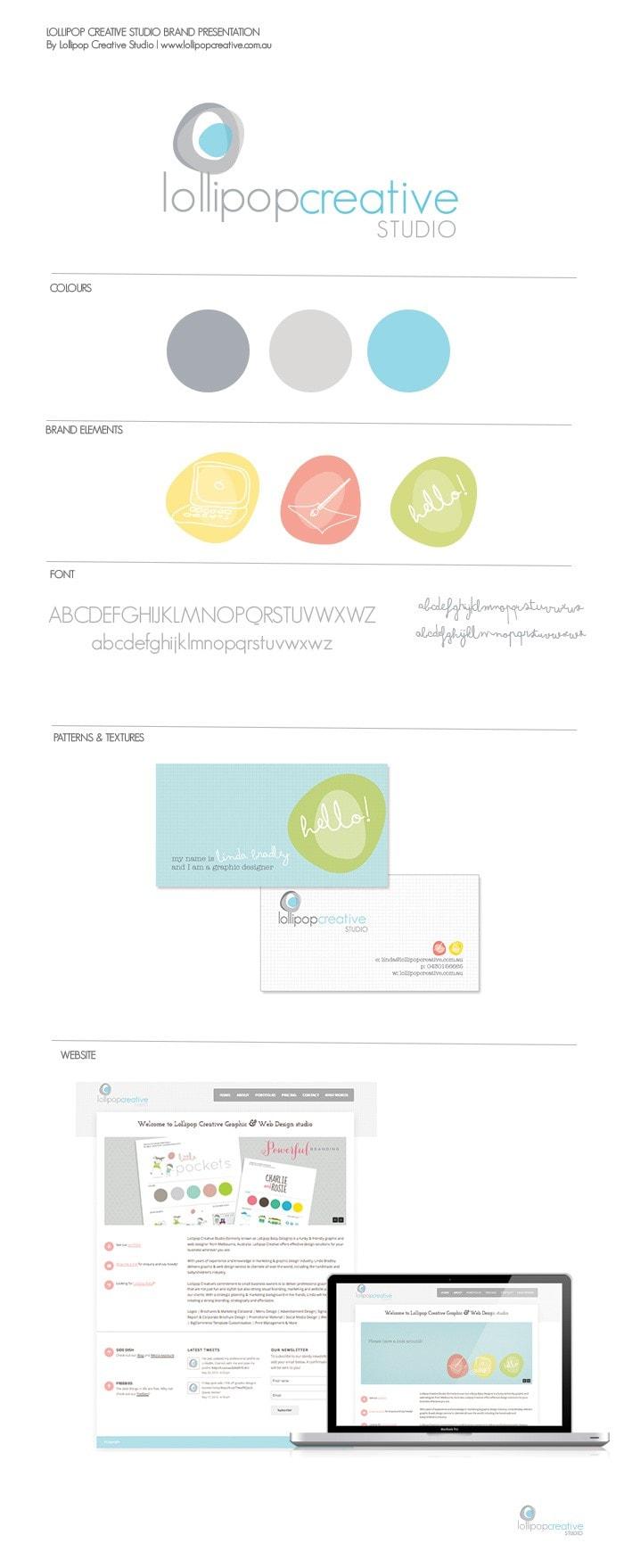 Lollipop Creative Studio Logo Design,  Brandboard