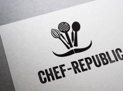 Custom Logo Design for cafe/resto business by Lollipop Creative Studio