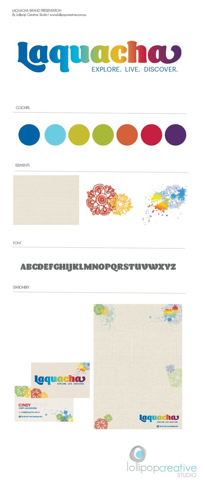 Laquacha Custom Logo & Branding design