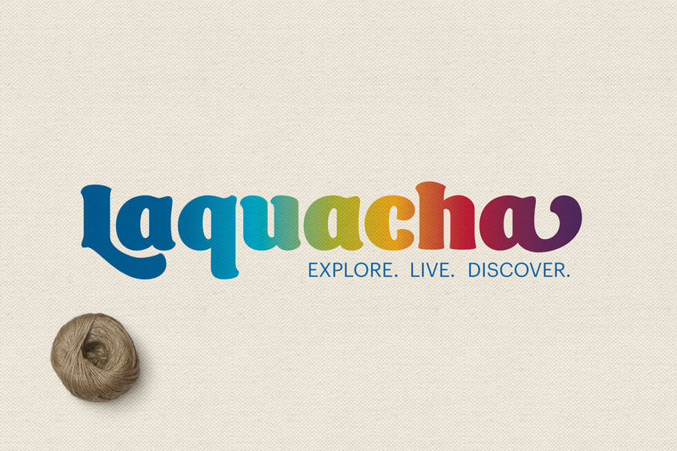 CUSTOM LOGO DESIGN FOR LAQUACHA, TRAVEL ACCESSORY BRAND