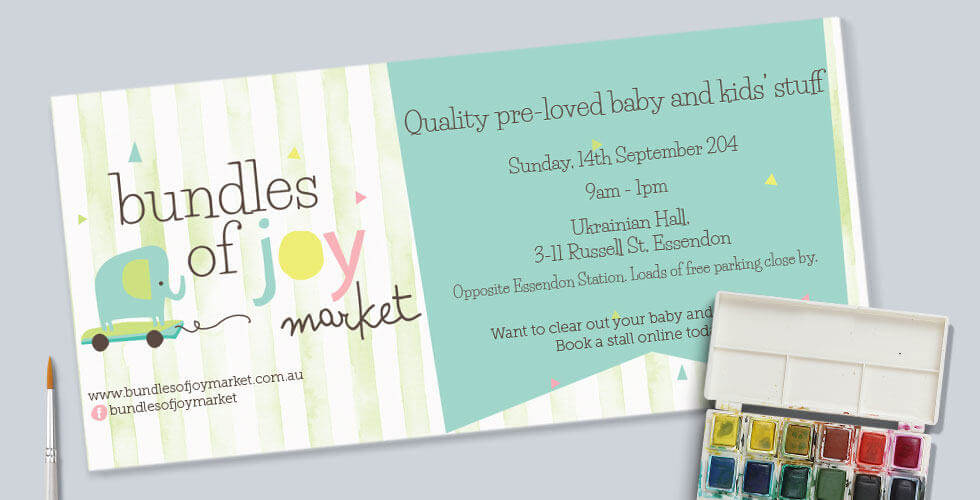 BUNDLESOFJOY BABY & CHILDREN FLYER DESIGN