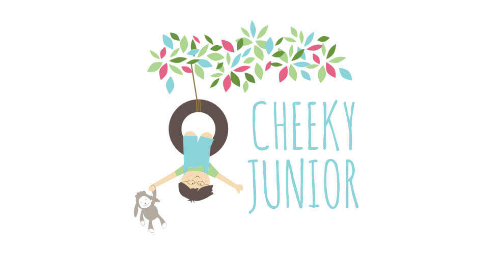 CHEEKYJUNIOR BABY LOGO DESIGN