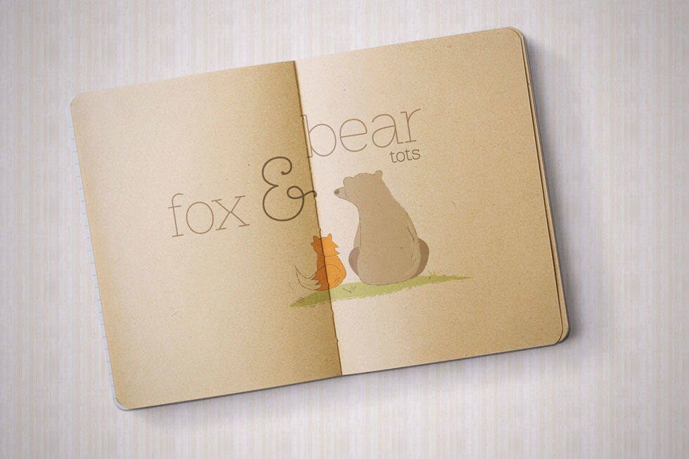 FOX&BEAR_LOGO_DESIGN