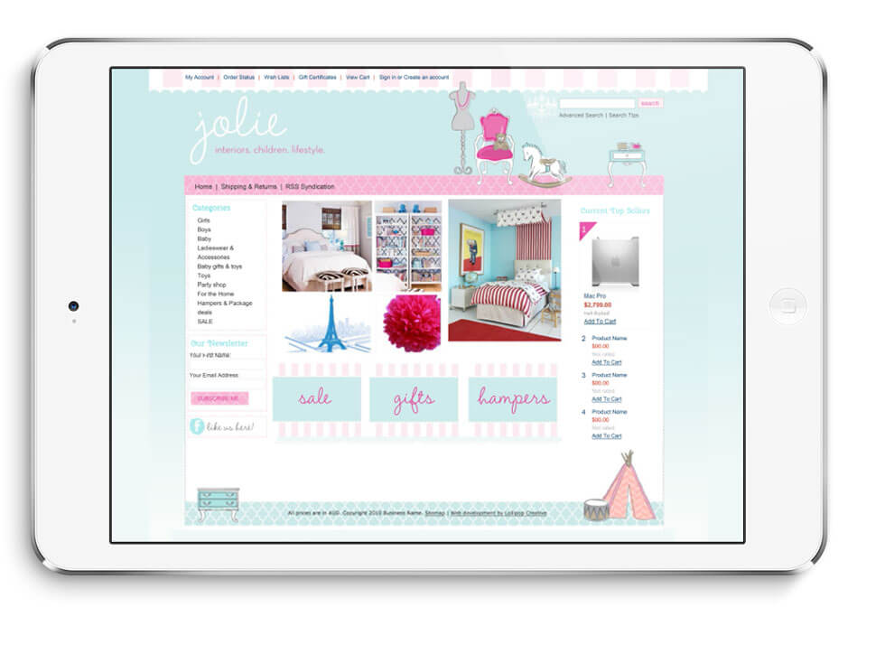 JOLIE_WEBSITE_design