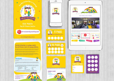 The Big Yellow Bus Branding Design