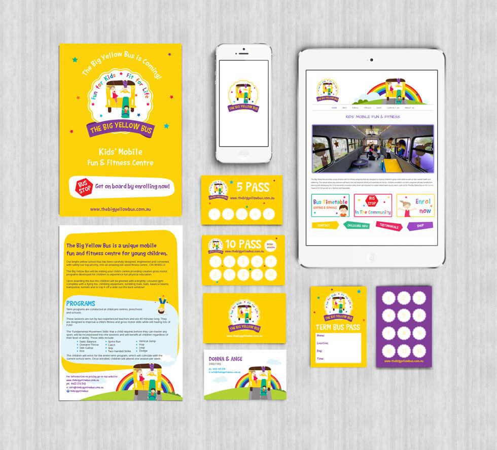 The Big Yellow Bus Branding Design