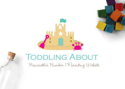 Toddling About Logo Design