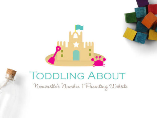 Toddling About Logo Design