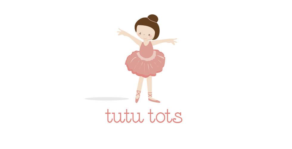 Tututots_preschool_ballet_logo_design