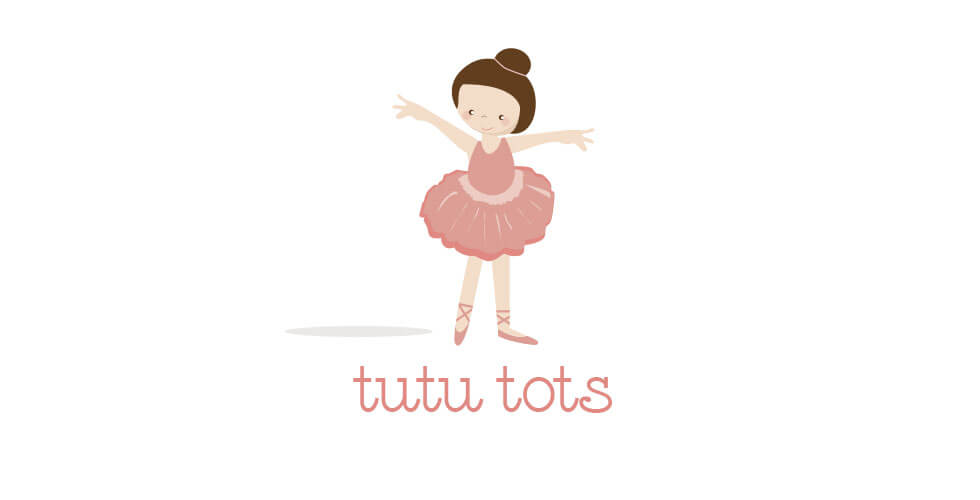 preschool ballet logo design