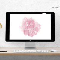 Free February Desktop Wallpaper for Valentine's Day