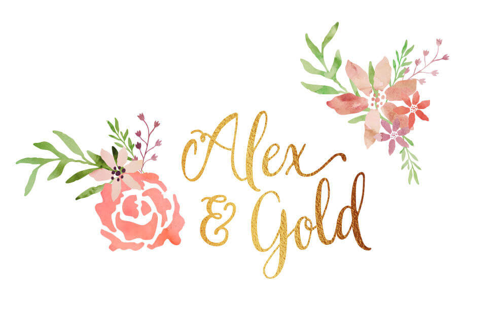 ALEX&GOLD FEMALE LOGO DESIGN