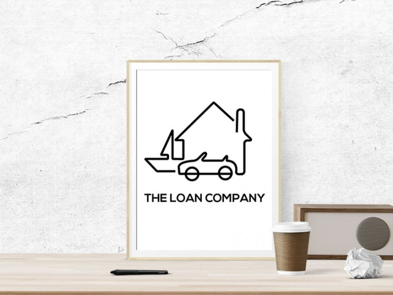 The Loan Company Logo Design