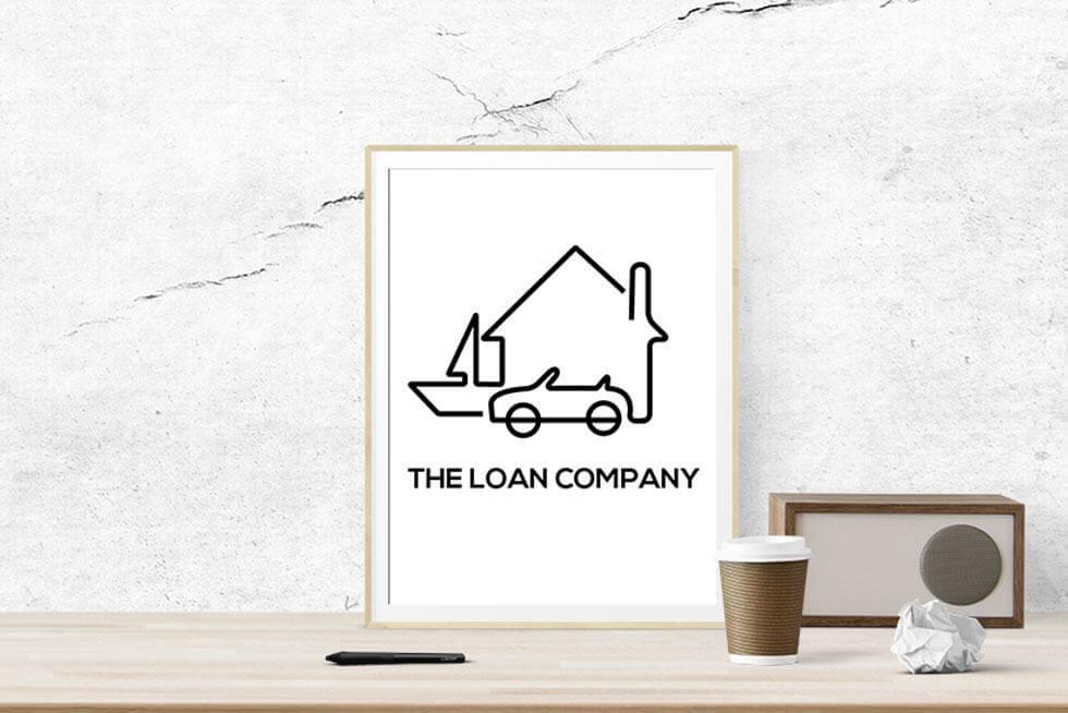The Loan Company Logo Design