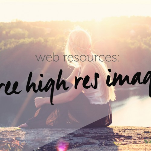 Websites With Free High Resolution Images