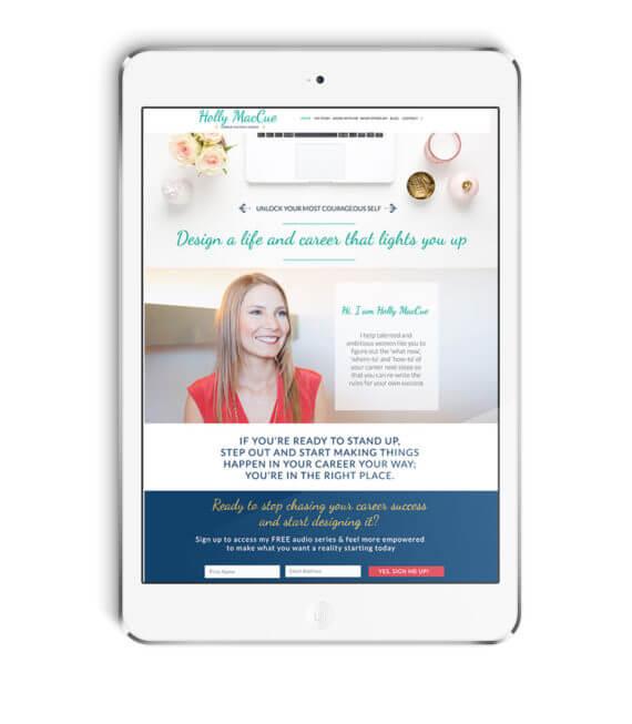 Holly MacCue Wordpress Design