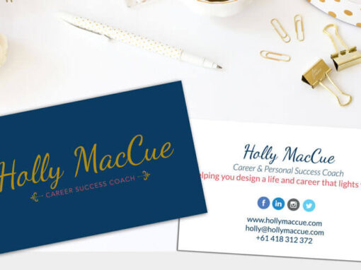Logo, Branding & WordPress Design For Career Coach: Holly MacCue