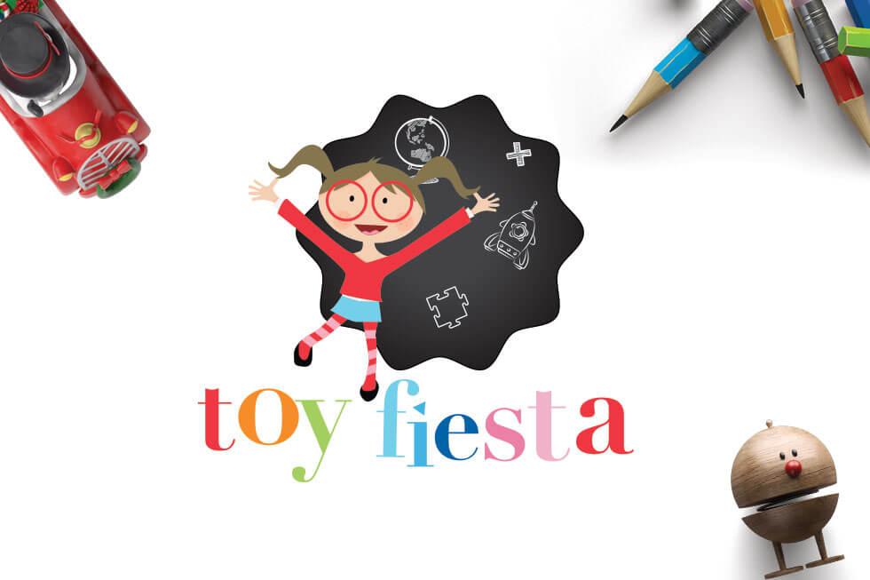 Toy fiesta Kid's Logo Design