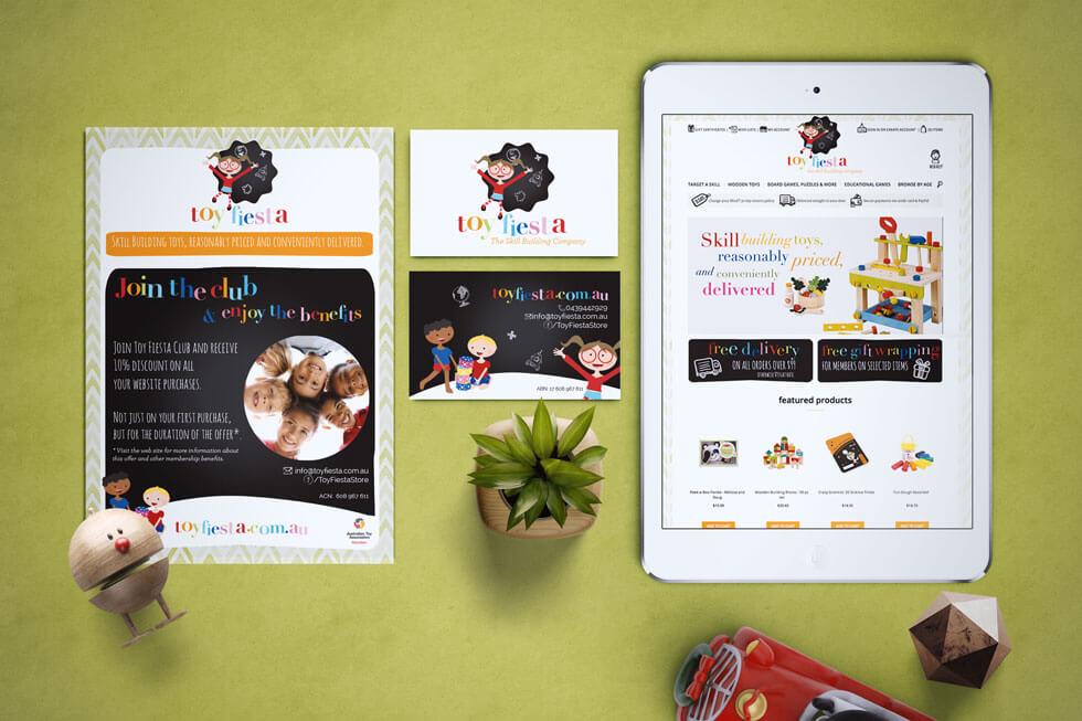 Toy Fiesta Children's Logo Design & Branding