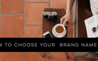 How to Choose Your Brand Name