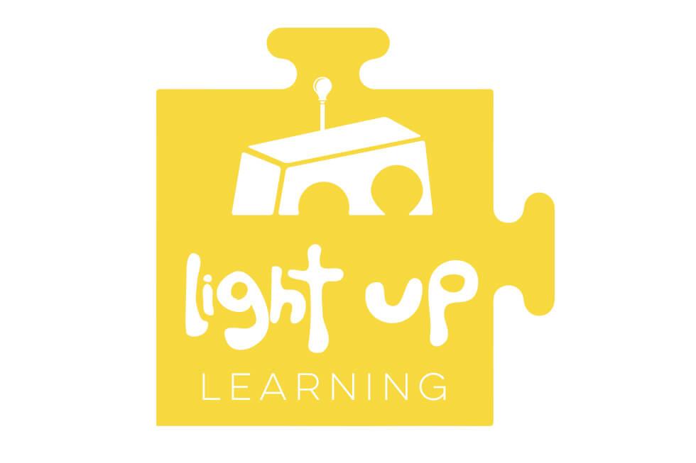 Light Up Learning Children's logo Design