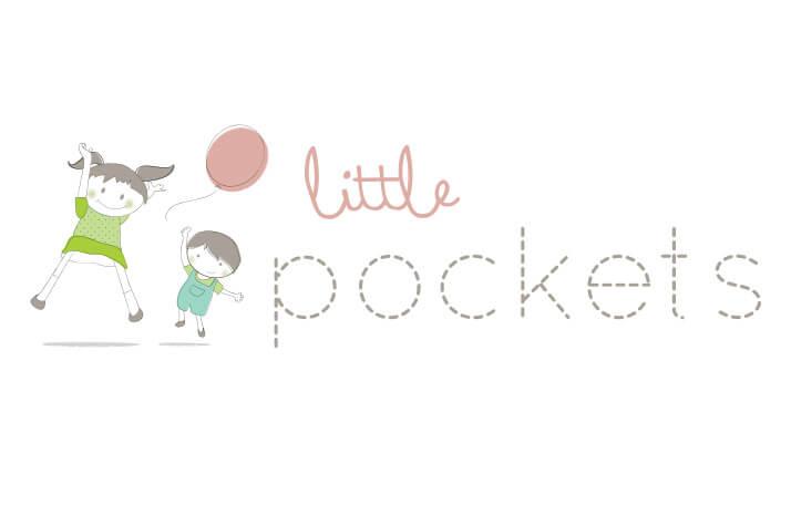 Little Pockets Kids Logo Design