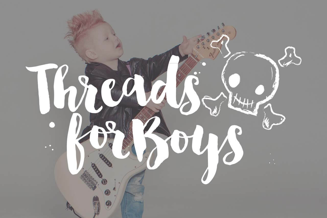 Thread For Boys Branding