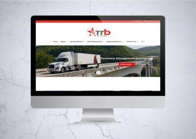 Arrb System Website Design