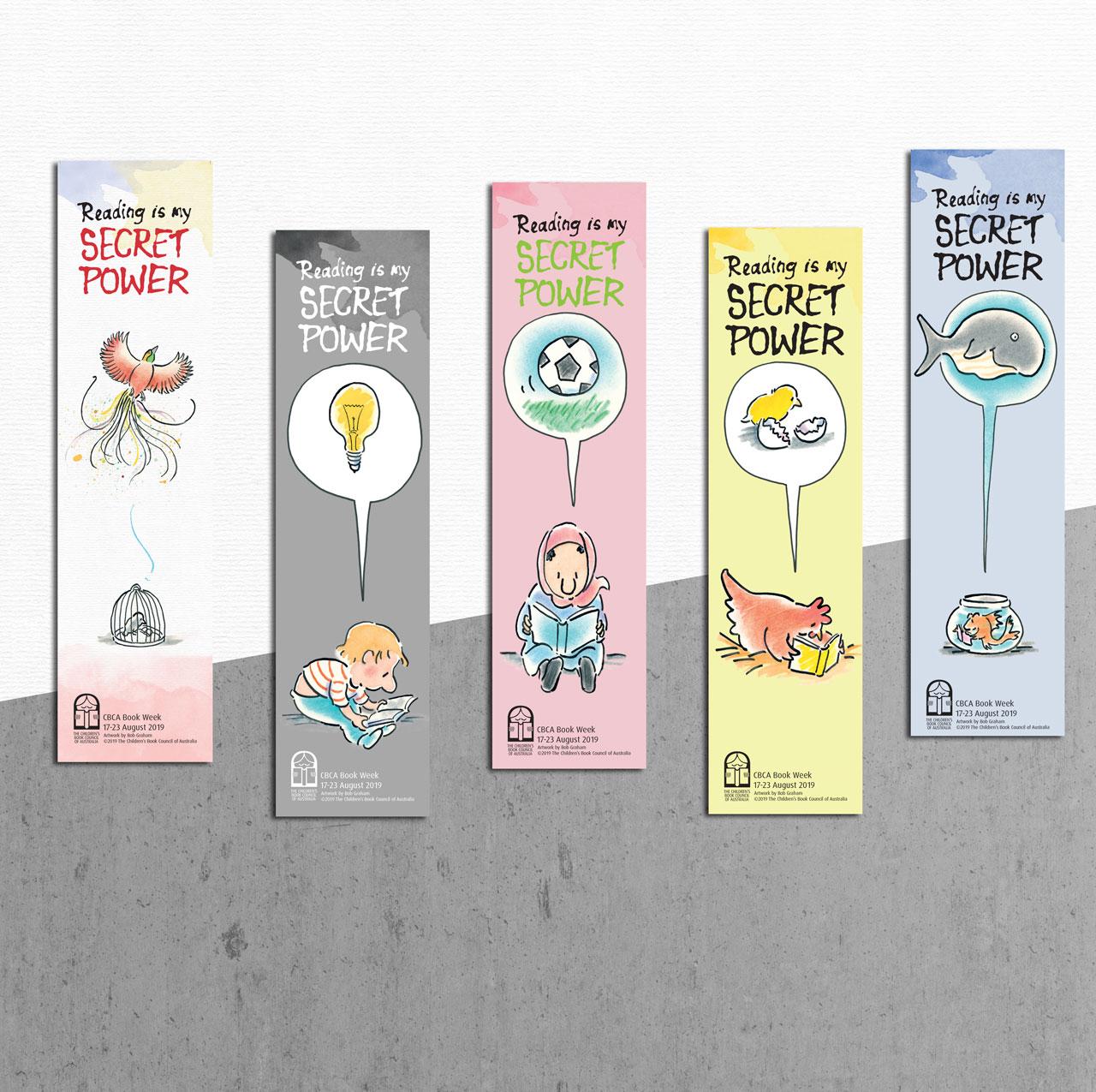 The CBCA Book Week 2019   Lollipop Creative Studio