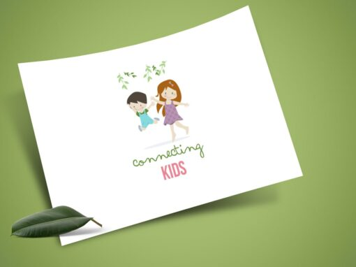 Connecting Kids Psychology Logo & Web Design