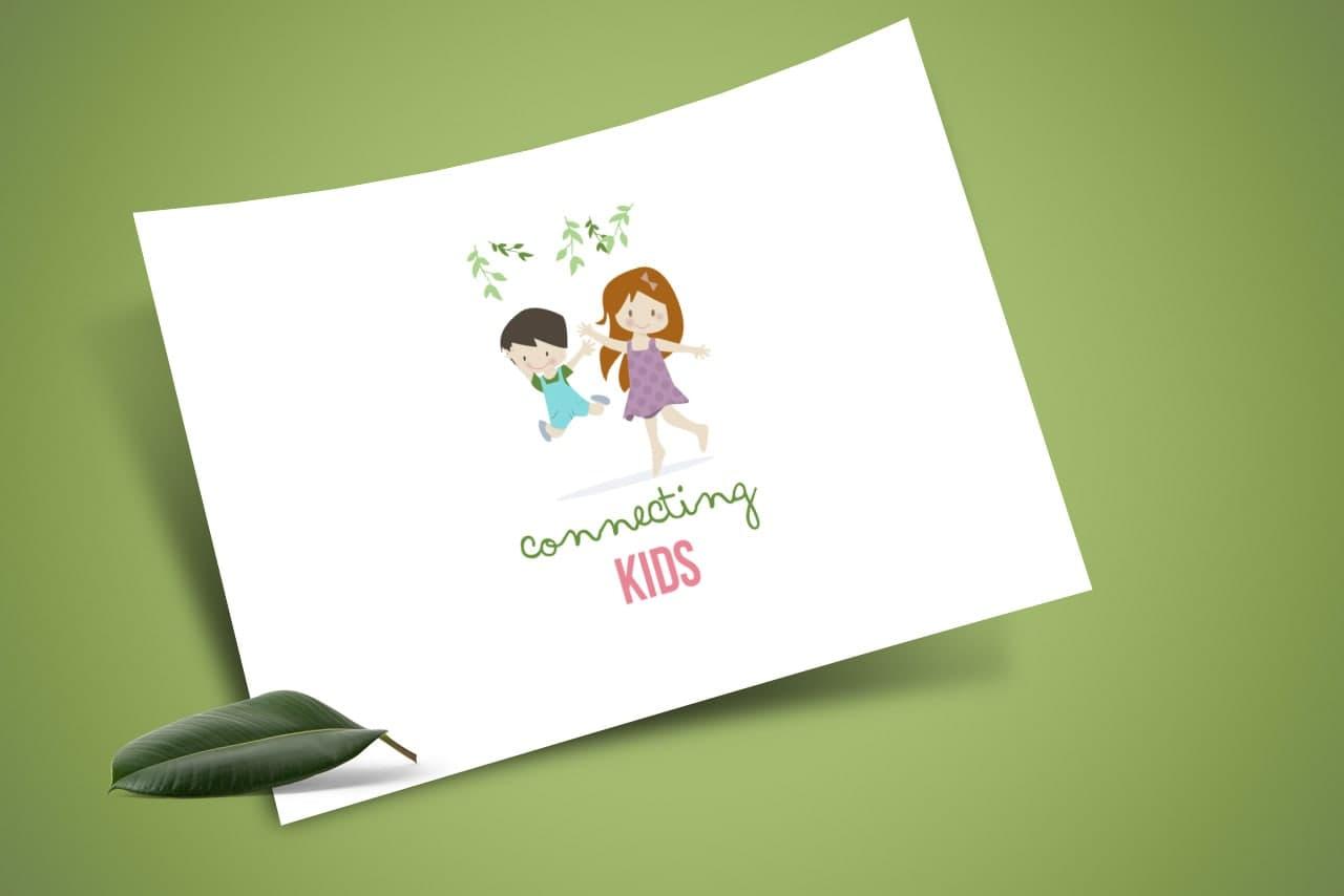Connecting Kids Psychology Logo Design