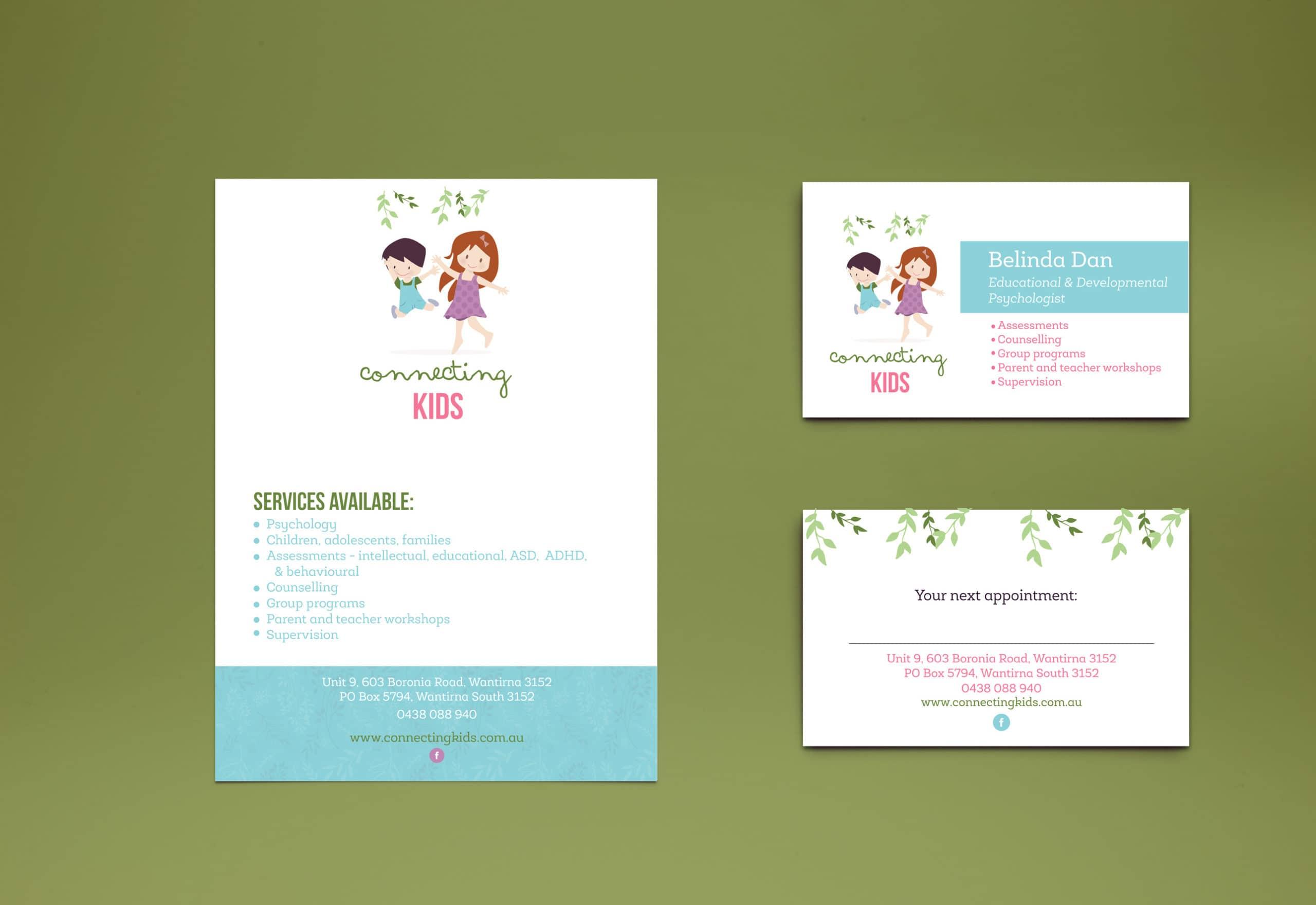 Connecting-Kids-Psychologist-Flyer-Design