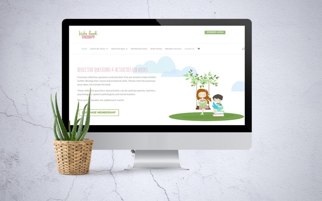 Kids Book Therapy – Educational and Developmental  Membership Website