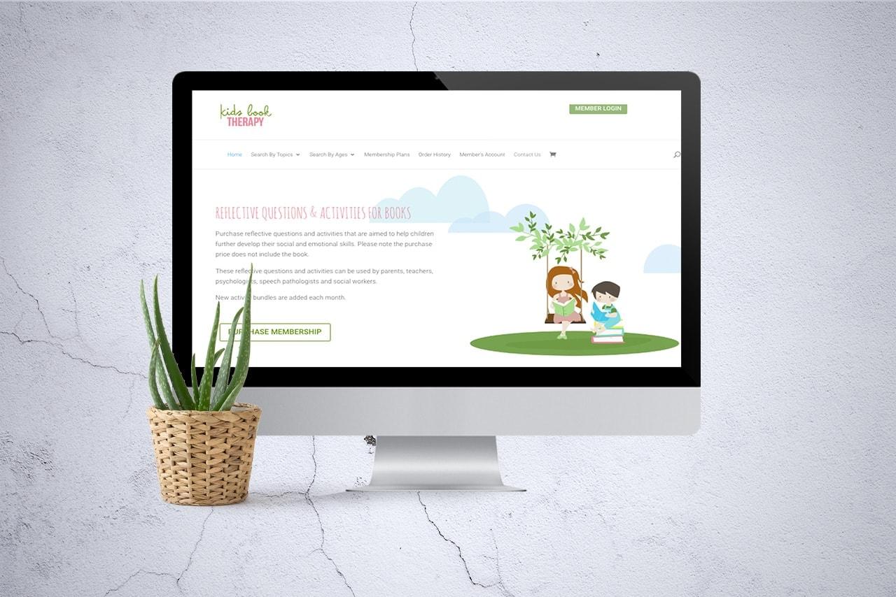 Connecting Kids Psychology Web Design