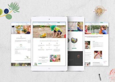 Minnows Childcare Web Design
