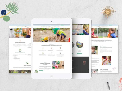 Minnows Childcare Web Design