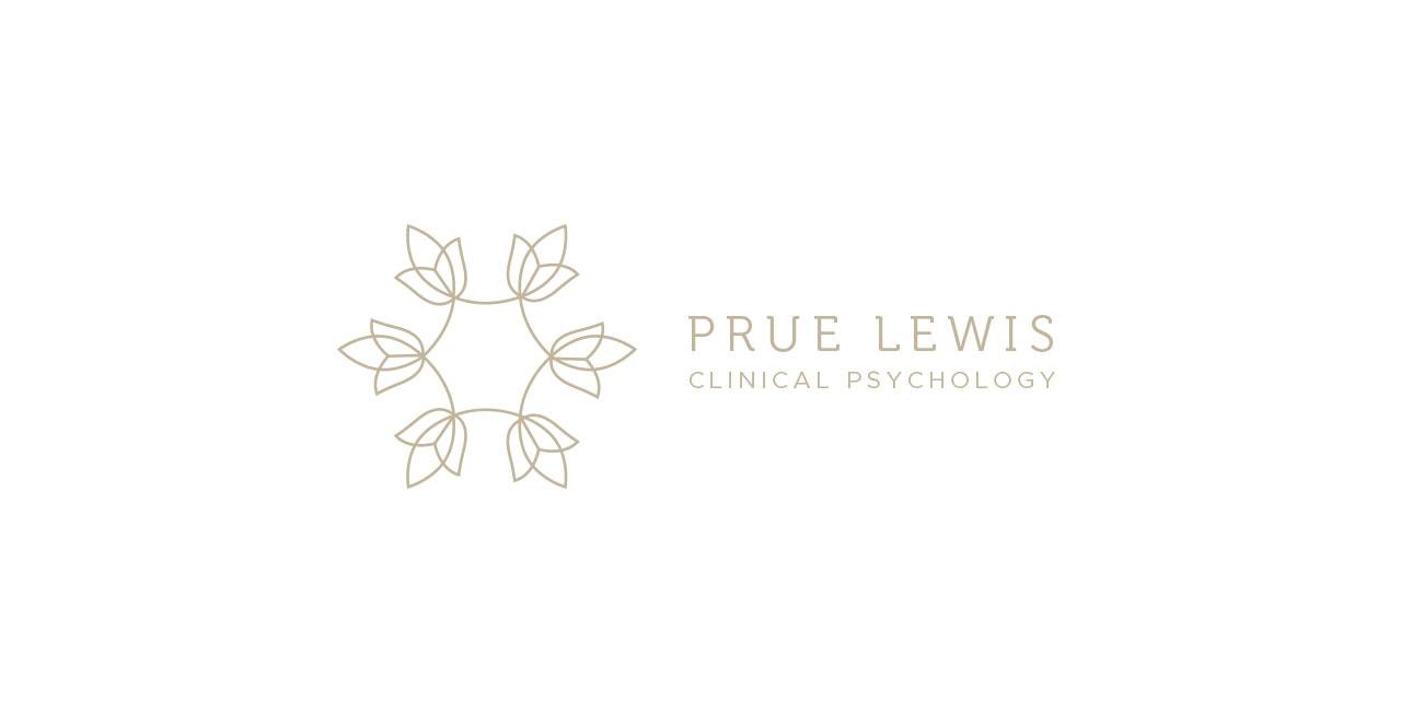 Prue Lewis Clinical Pscyhology Logo Design