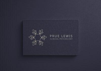Prue Lewis Clinical Psychology Logo & Branding Design