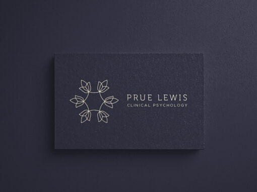 Prue Lewis Clinical Psychology Logo & Branding Design
