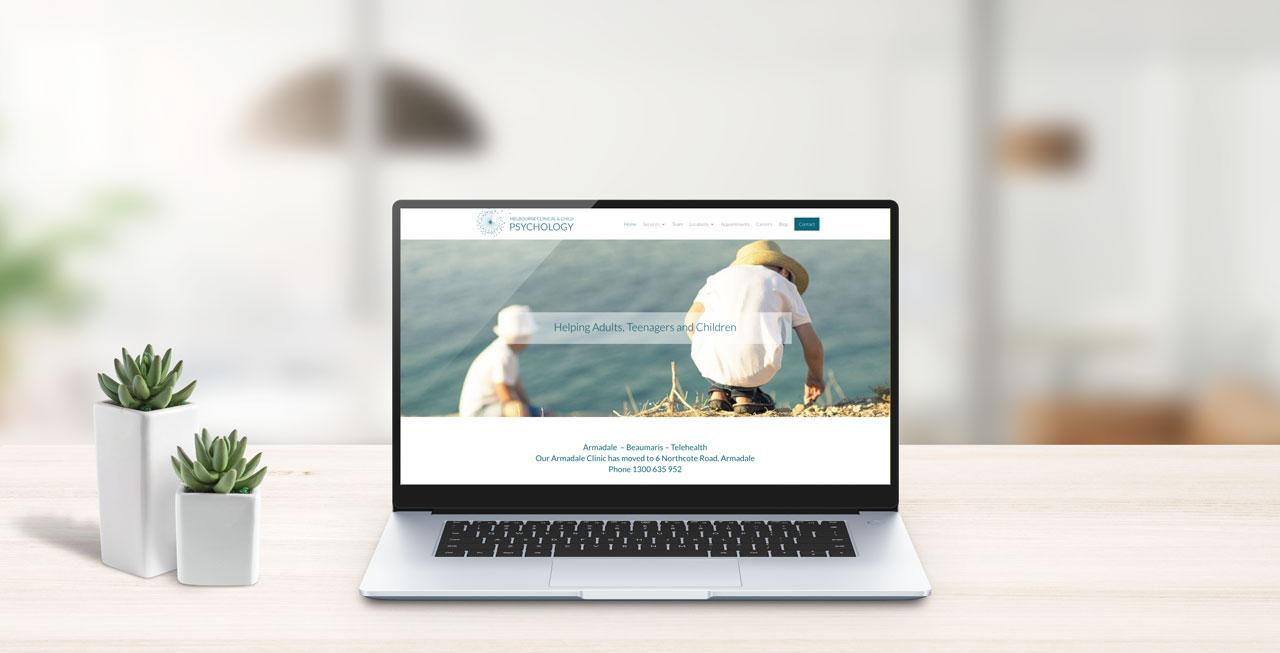 melbourne clinical & child psychology website design