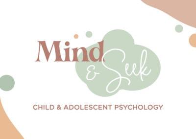 Pyschologist Logo & Website Design – Mind & Seek