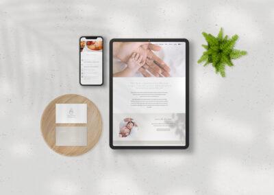 Baby's Breath Healthy Confinement Catering Logo & Website Design