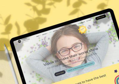 Eye Collective Optometry Website Design