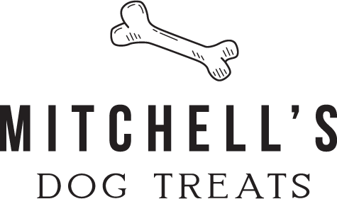 mitchells' dog treats logo mark full color rgb