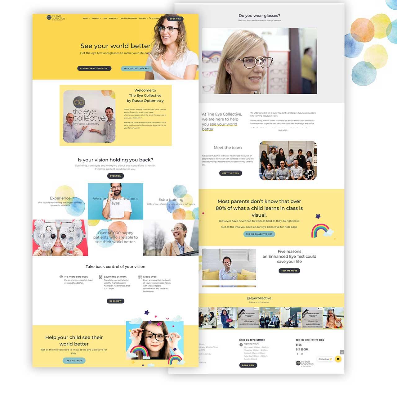 eyecollective homepage